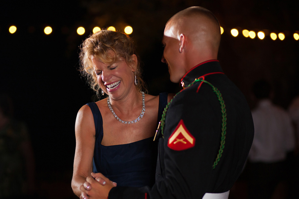 Military Groom & Mom's Dance