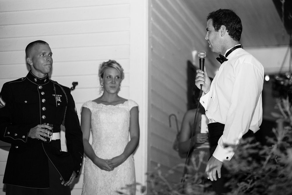 Best Man's Speech at a Wedding in NC