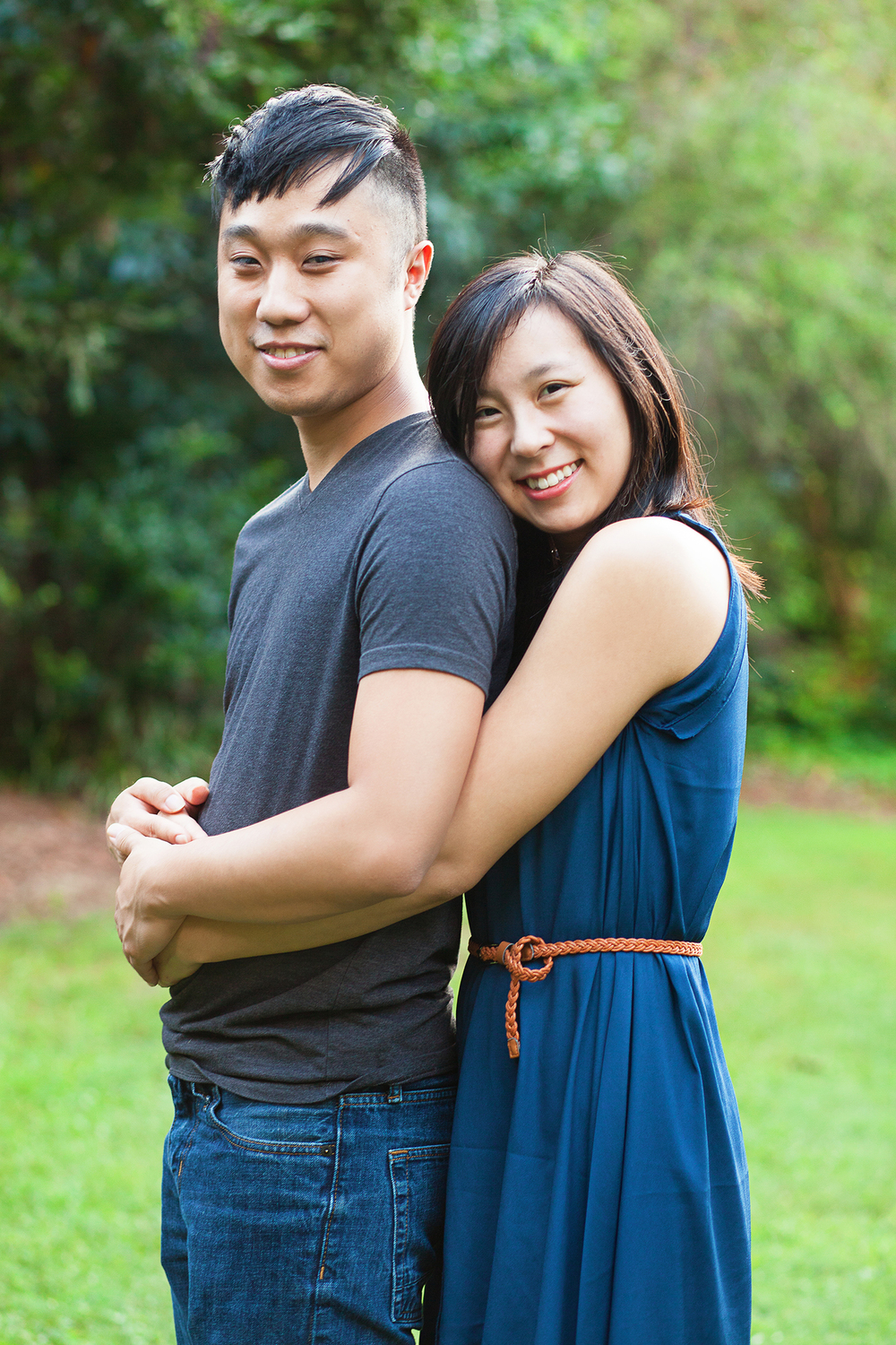 Blue Engagement Session Outfit Ideas