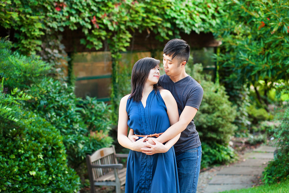 JC Raulston Arboretum Engagement Photography Session