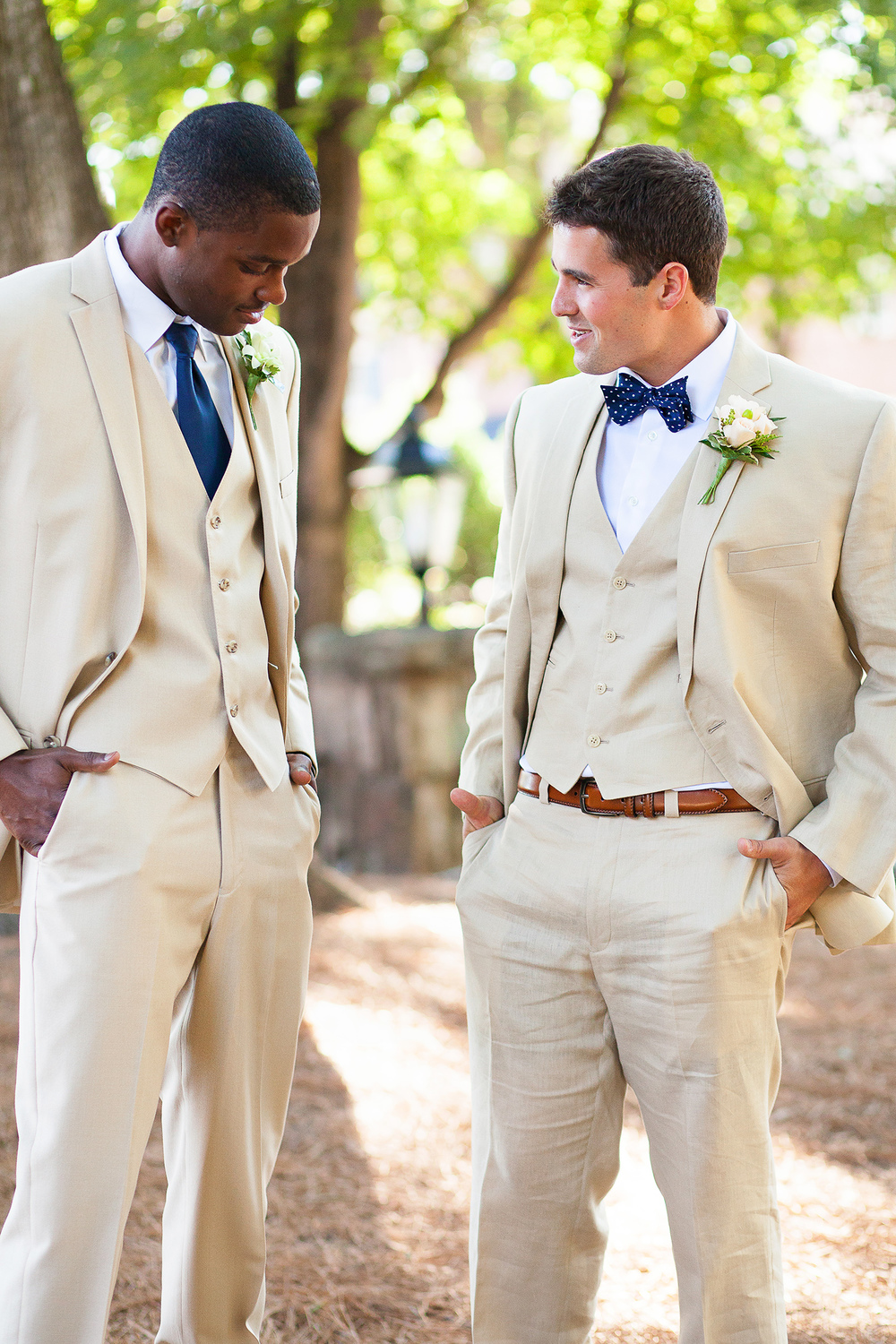 Classic Khaki & Navy Wedding Ideas