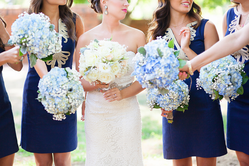 Navy & Gold Wedding Ideas in NC