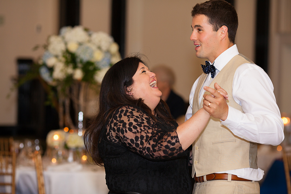 Mother & Son Dance at a Carolina Inn Wedding