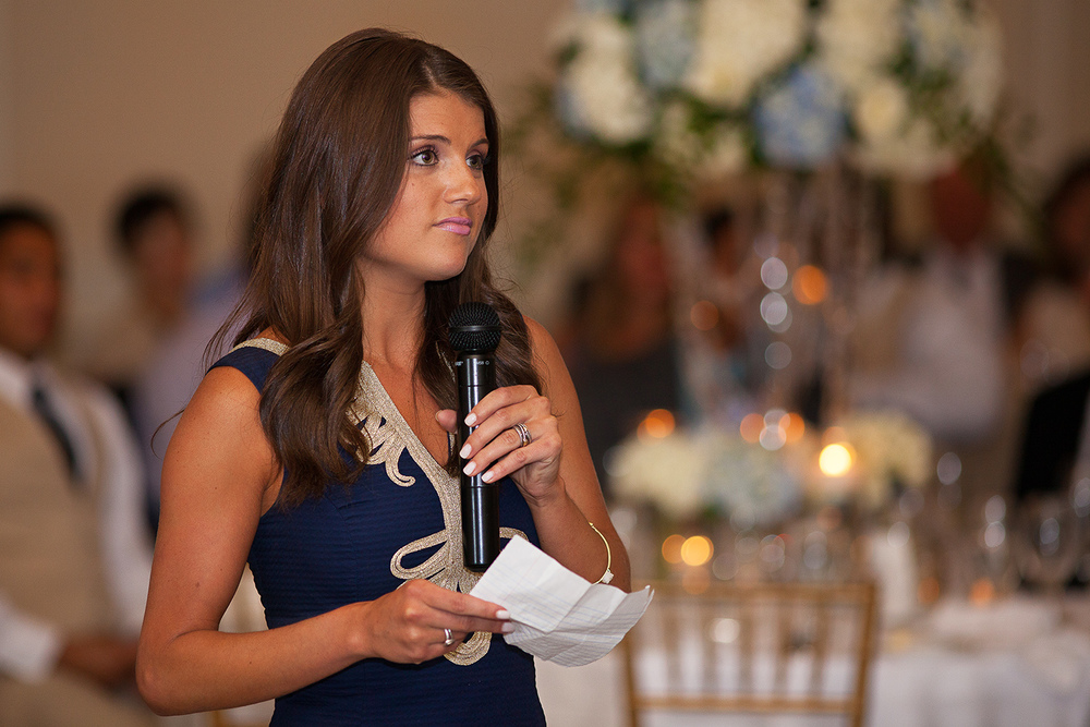 Chapel Hill Maid of Honor Speech