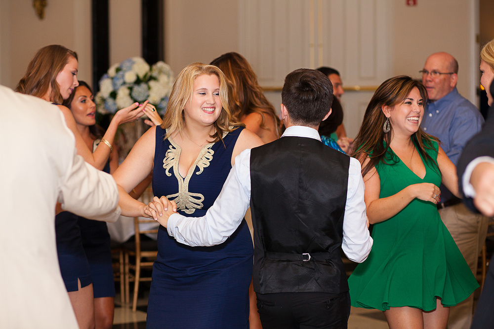 Dancing Bridal Party
