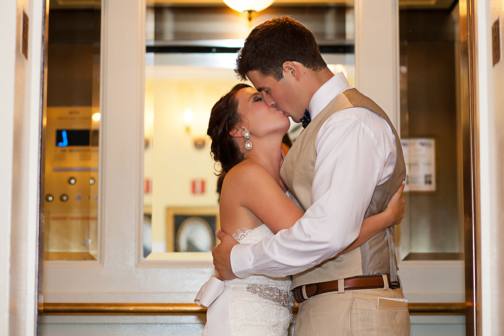 Elevator Wedding Picture Ideas