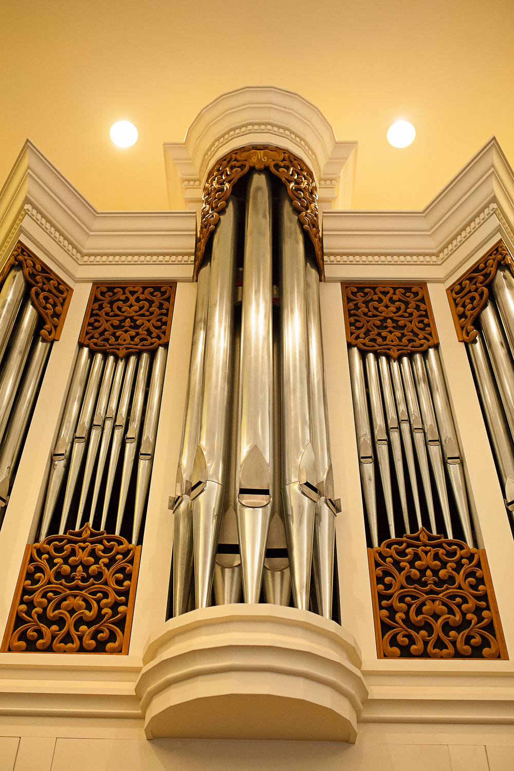 Organs at Jones Chapel
