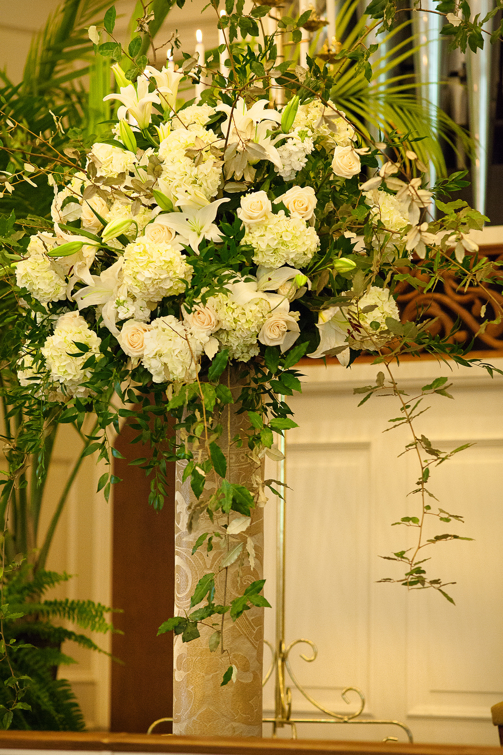 Ceremony Flowers by Fresh Affairs