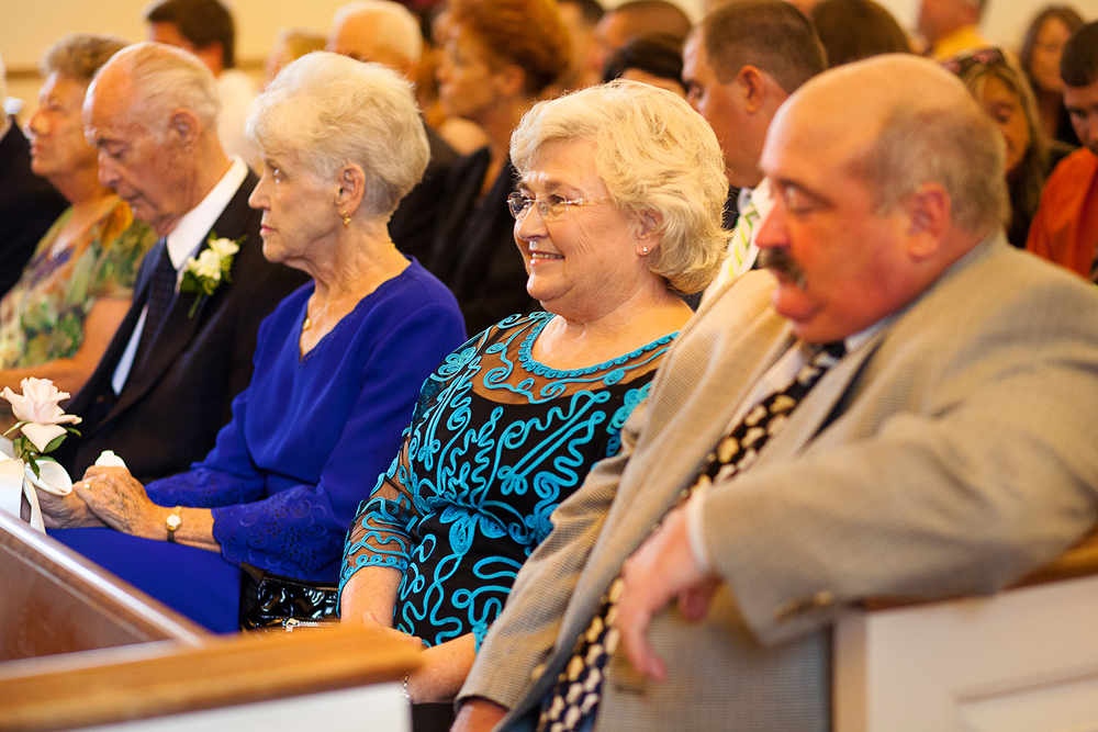 Grandparents at Wedding