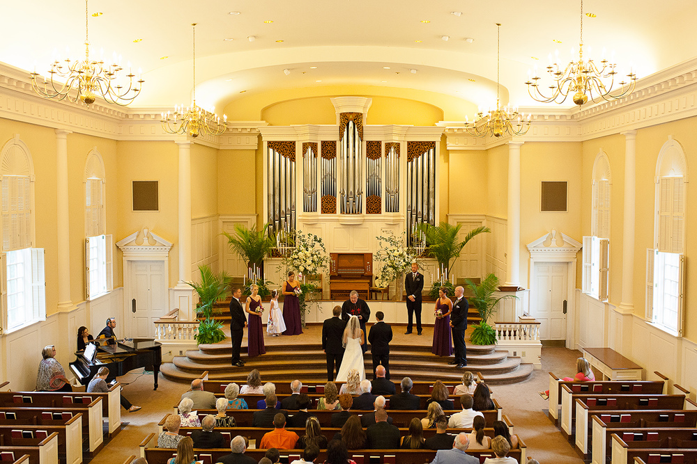 Wedding at Jones Chapel Raleigh