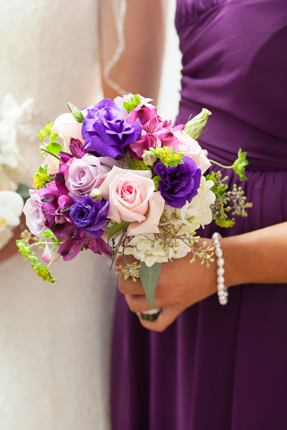 Purple Bouquet by Fresh Affairs