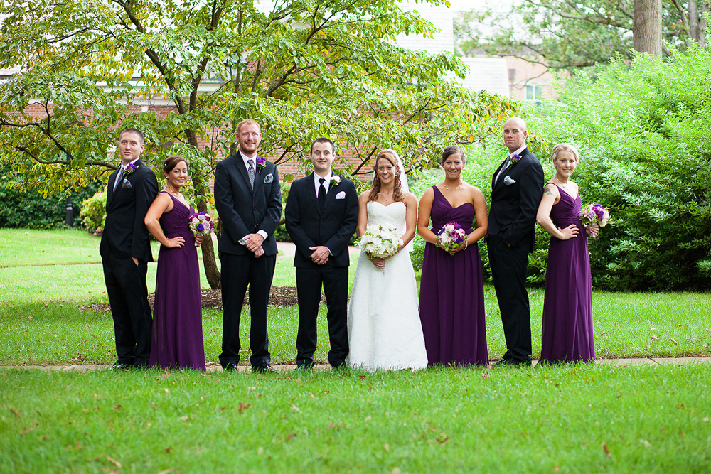 Bridal Party at Jone Chapel Wedding