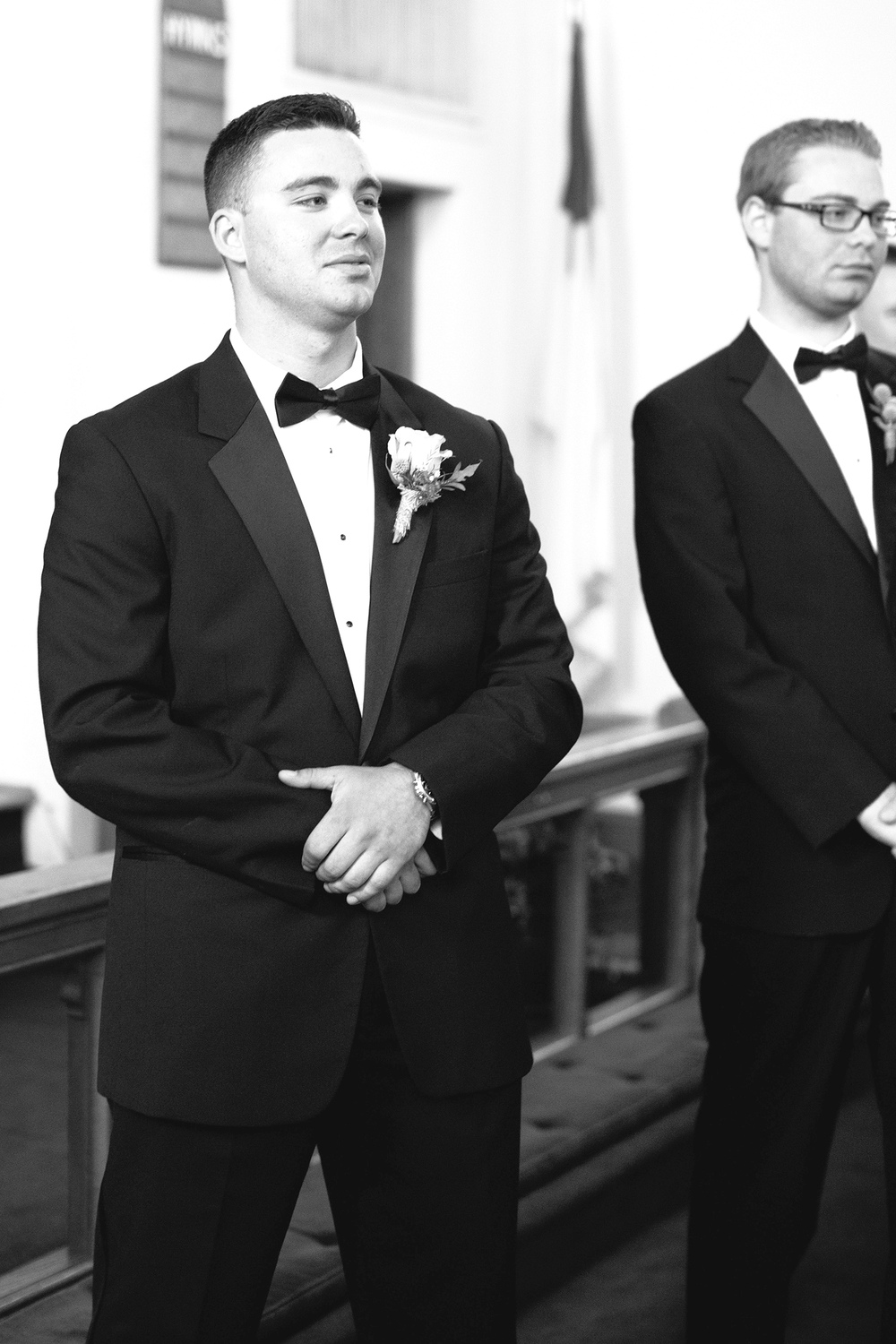 A Groom Seeing his Bride for the first time