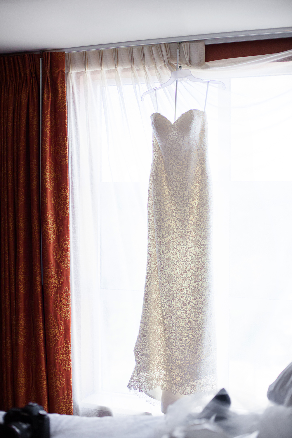 Wedding Gown at Embassy Suites