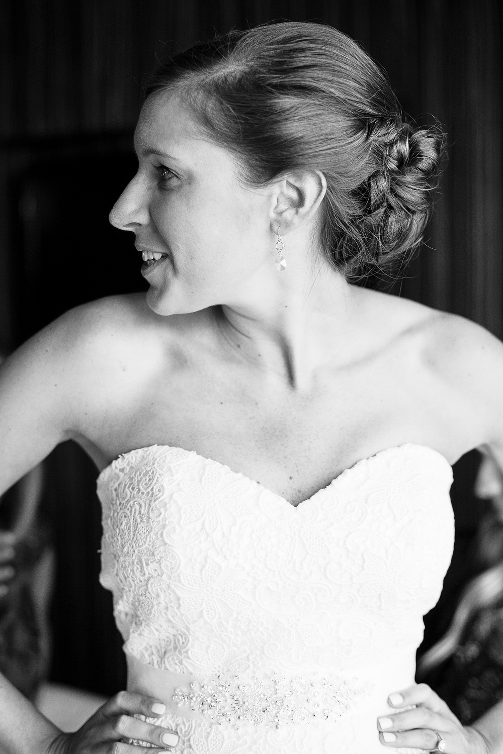 Bride Getting Ready at Embassy Suites