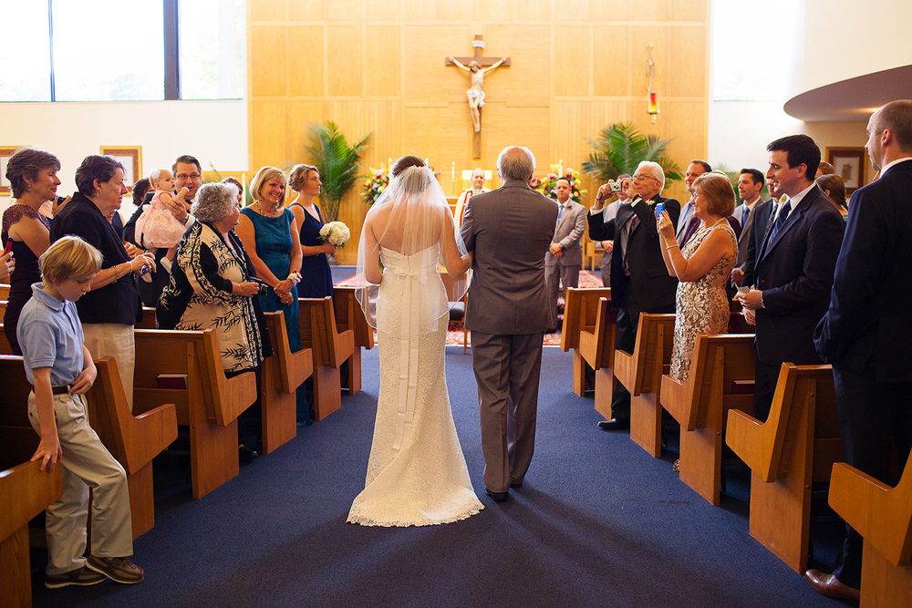 Wedding at Our Lady of Lourdes