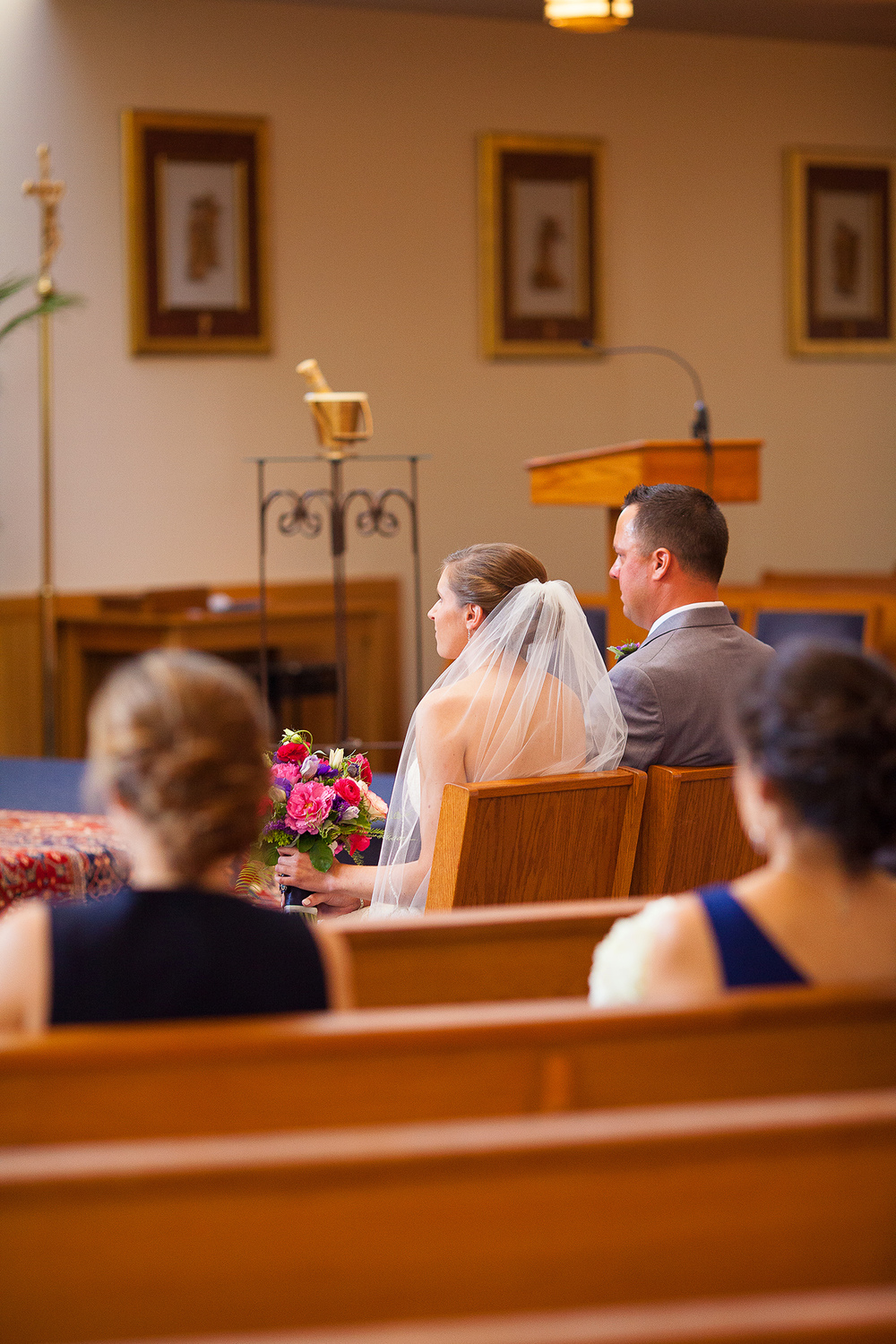 Catholic Wedding at Our Lady of Lourdes