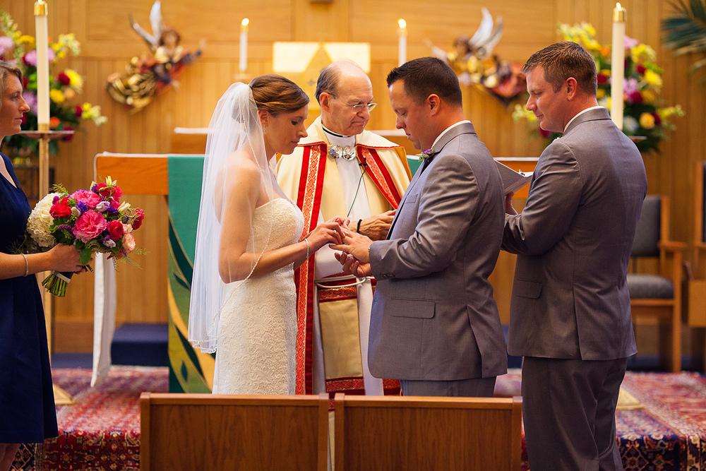 Raleigh Catholic Wedding