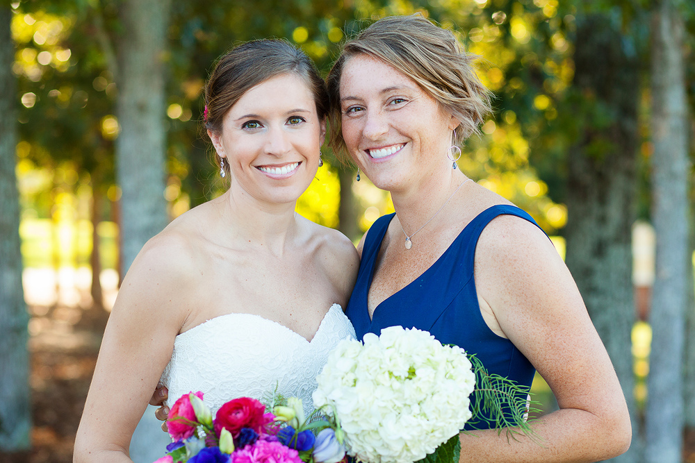 Bride with Sister