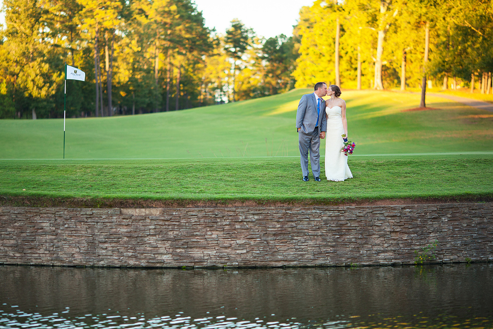 Raleigh Golf Course Wedding