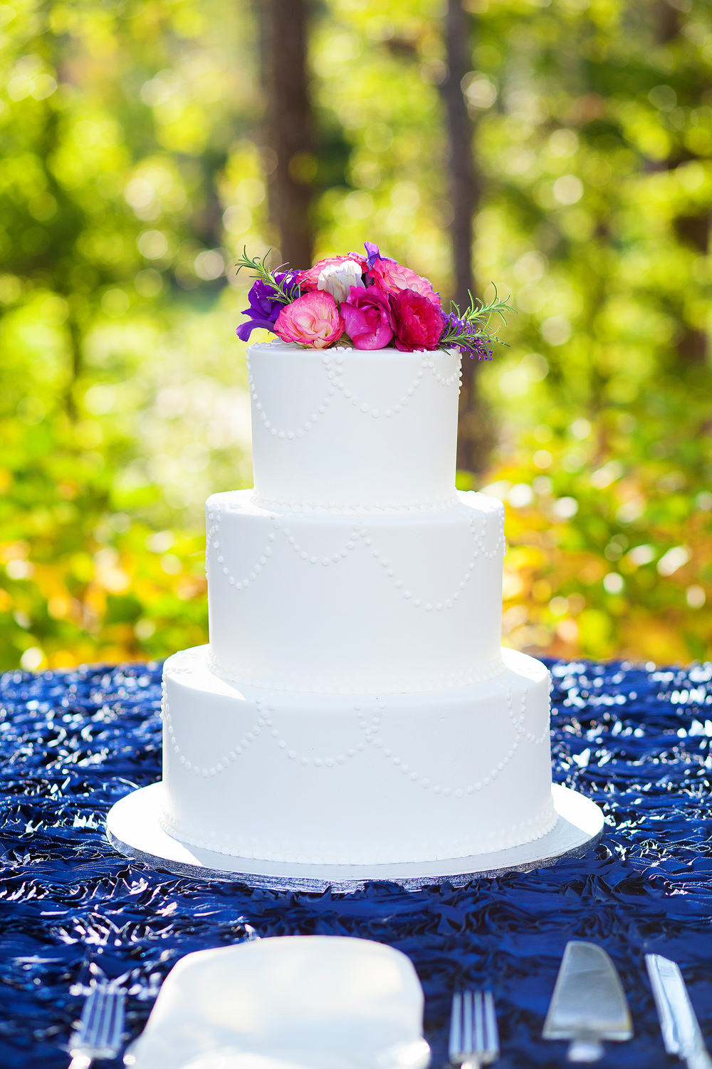 Cake at Brier Creek Country Club