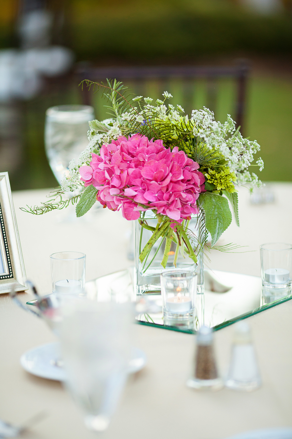 Pink Centerpiece Idea