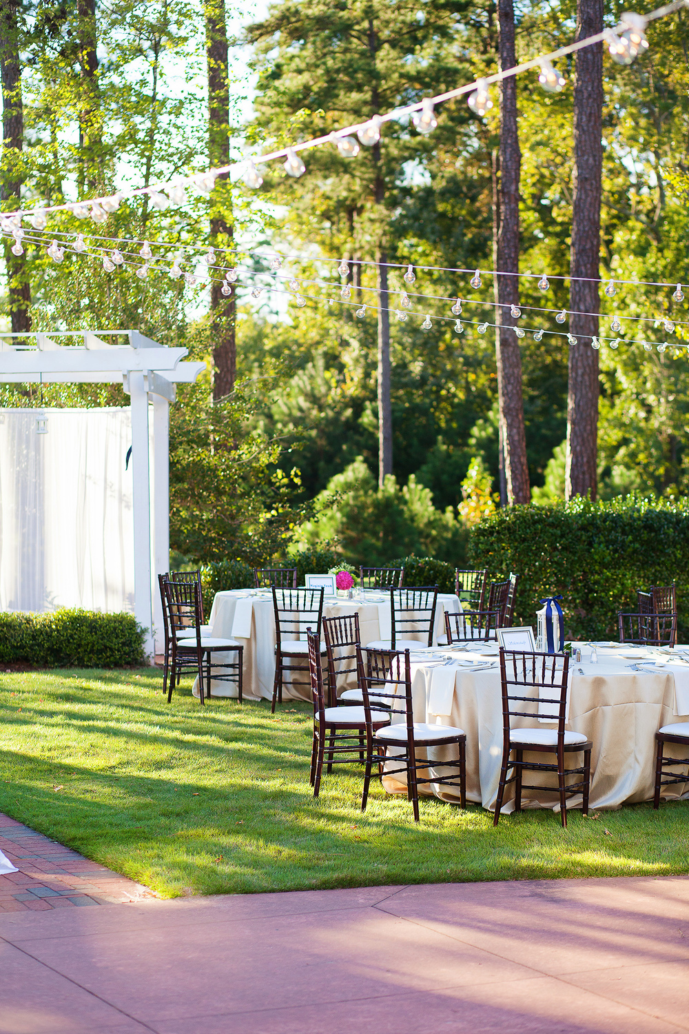 Outdoor Reception Ideas Raleigh