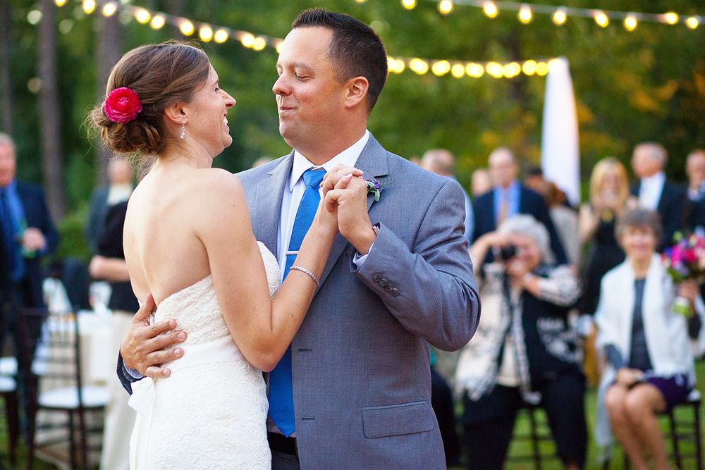 First Dance at Brier Creek Country Club Wedding