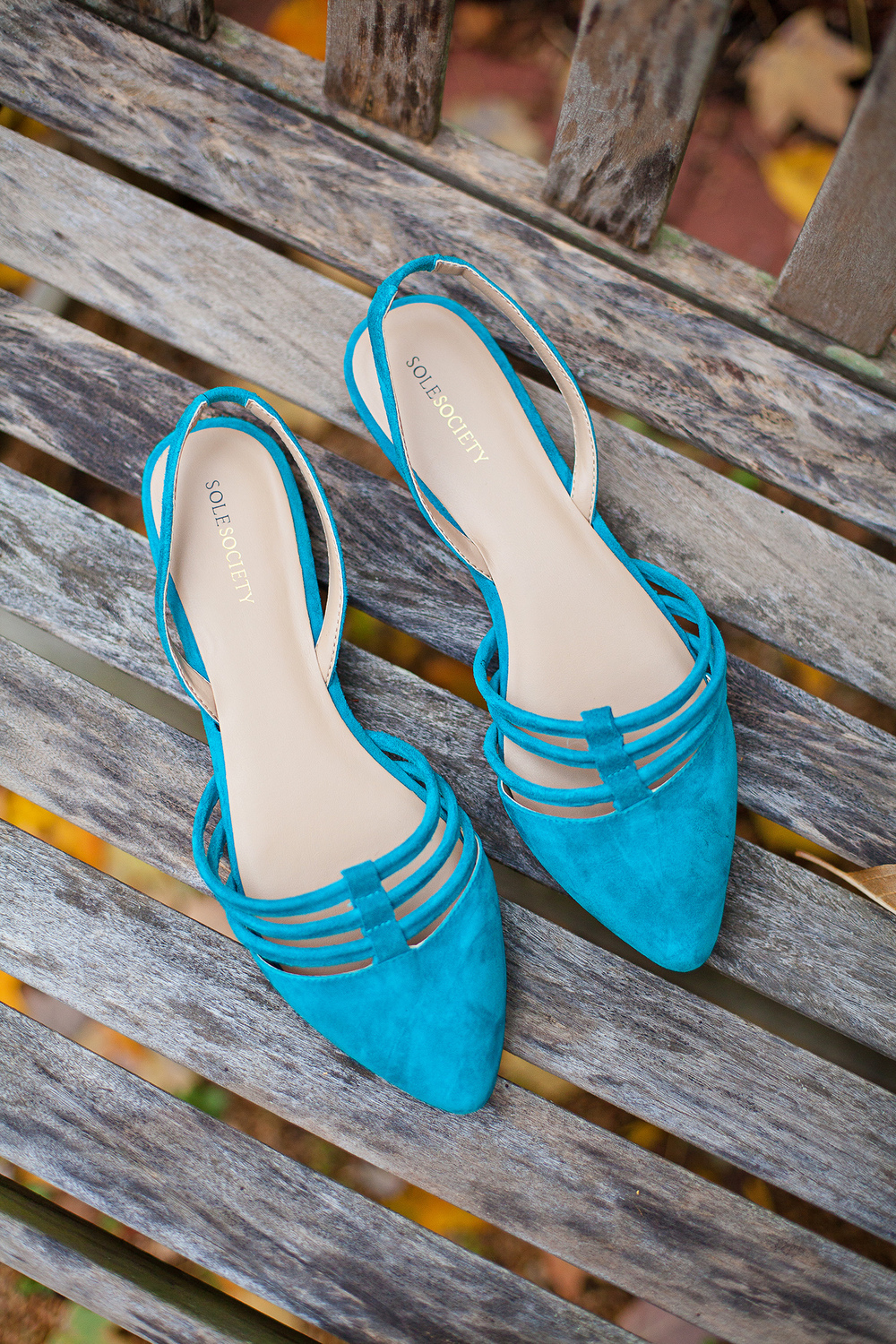 Teal Bridal Shoes by Sole Society