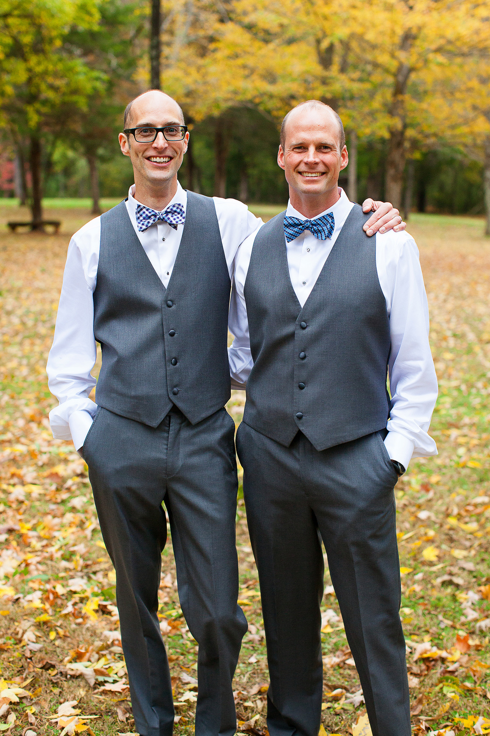 Brothers in a Bridal Party