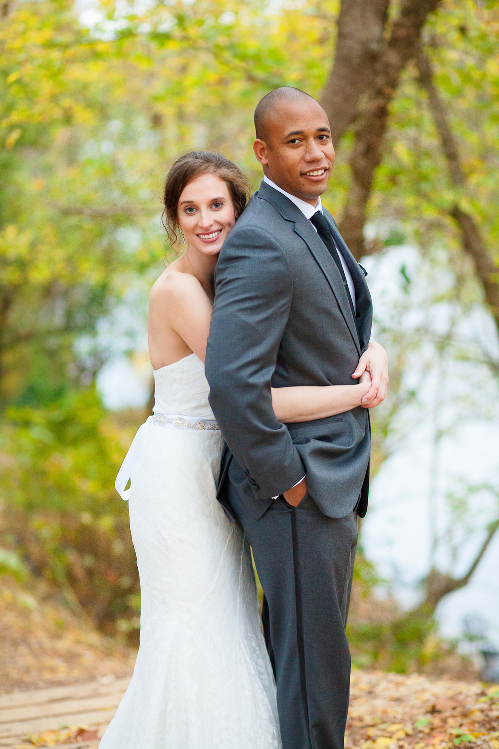 Couple at Haw River