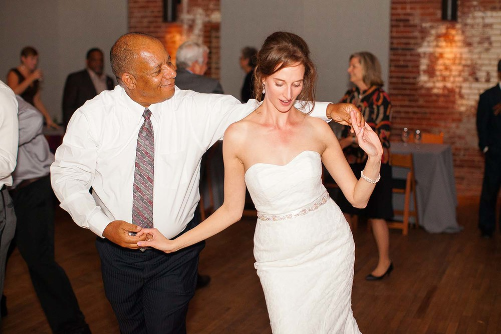 Bride Dancing with her Father-in-Law