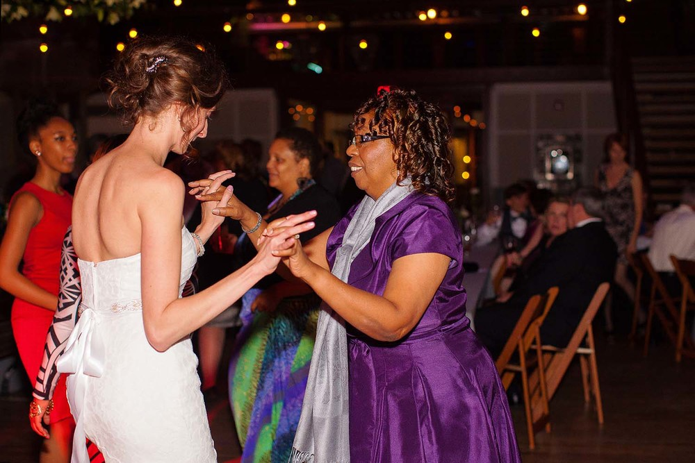 Bride Dancing with her Mother-in-Law