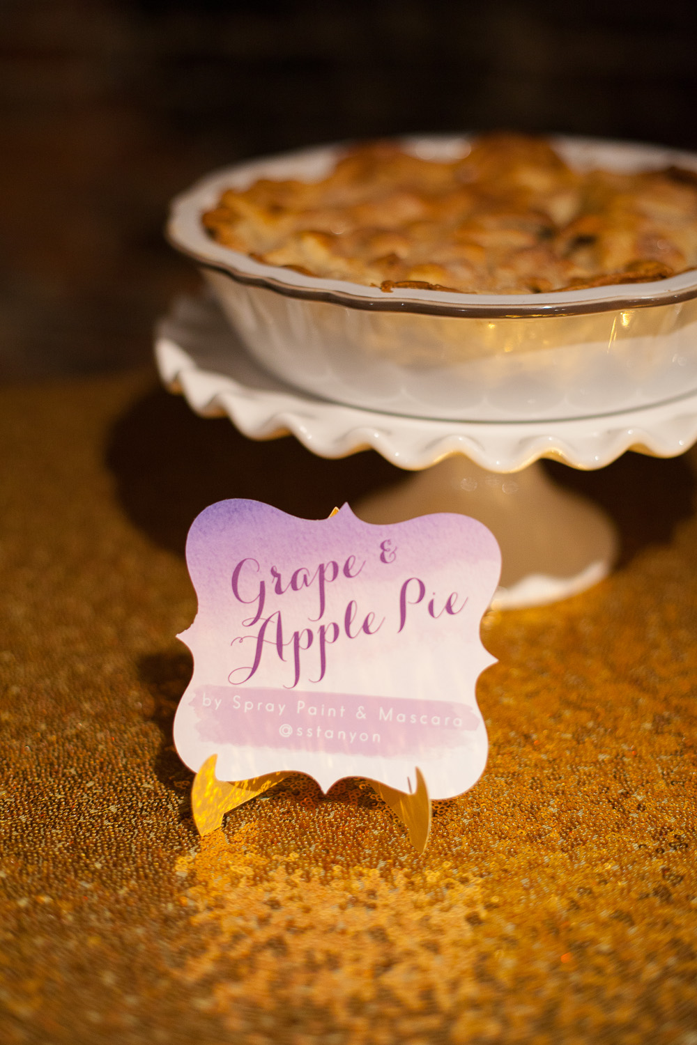 Apple Pie Name Card