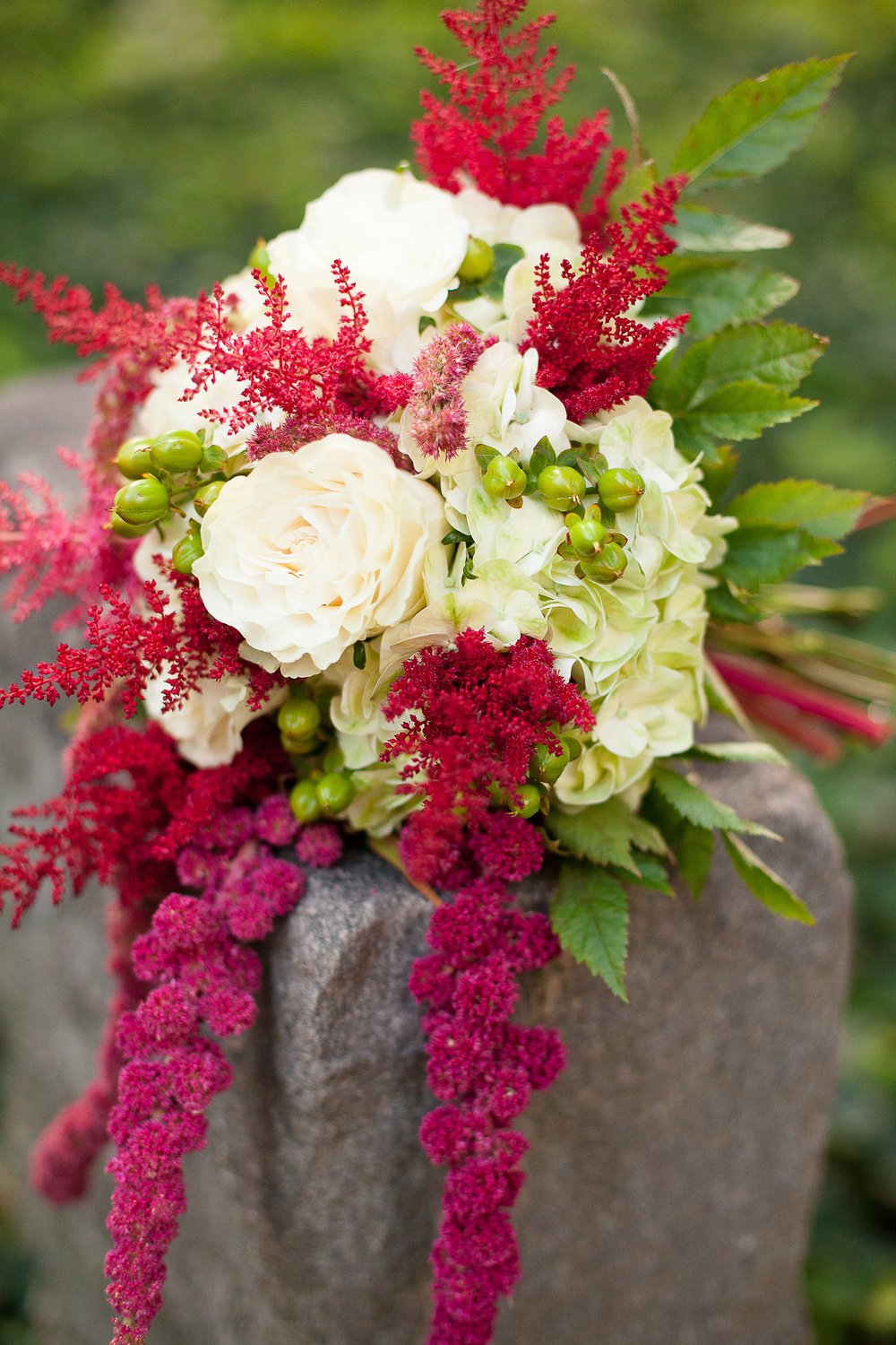 Cascading Pink & White Bouquet