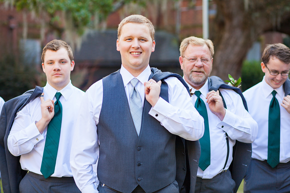 Emerald Groomsmen Ties