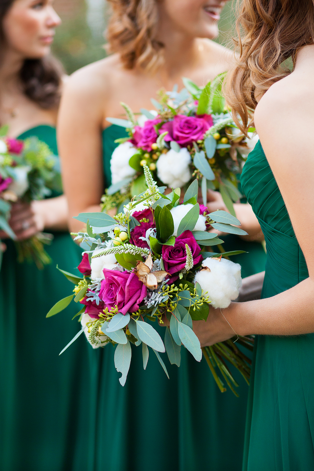 Magenta & Emerald Weddings