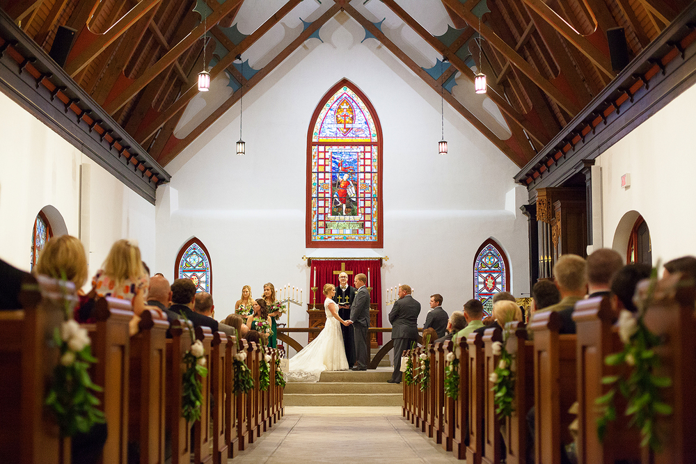 St Luke's Chapel Wedding
