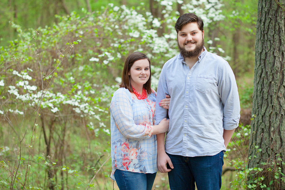 Engagement Session at Umstead Park
