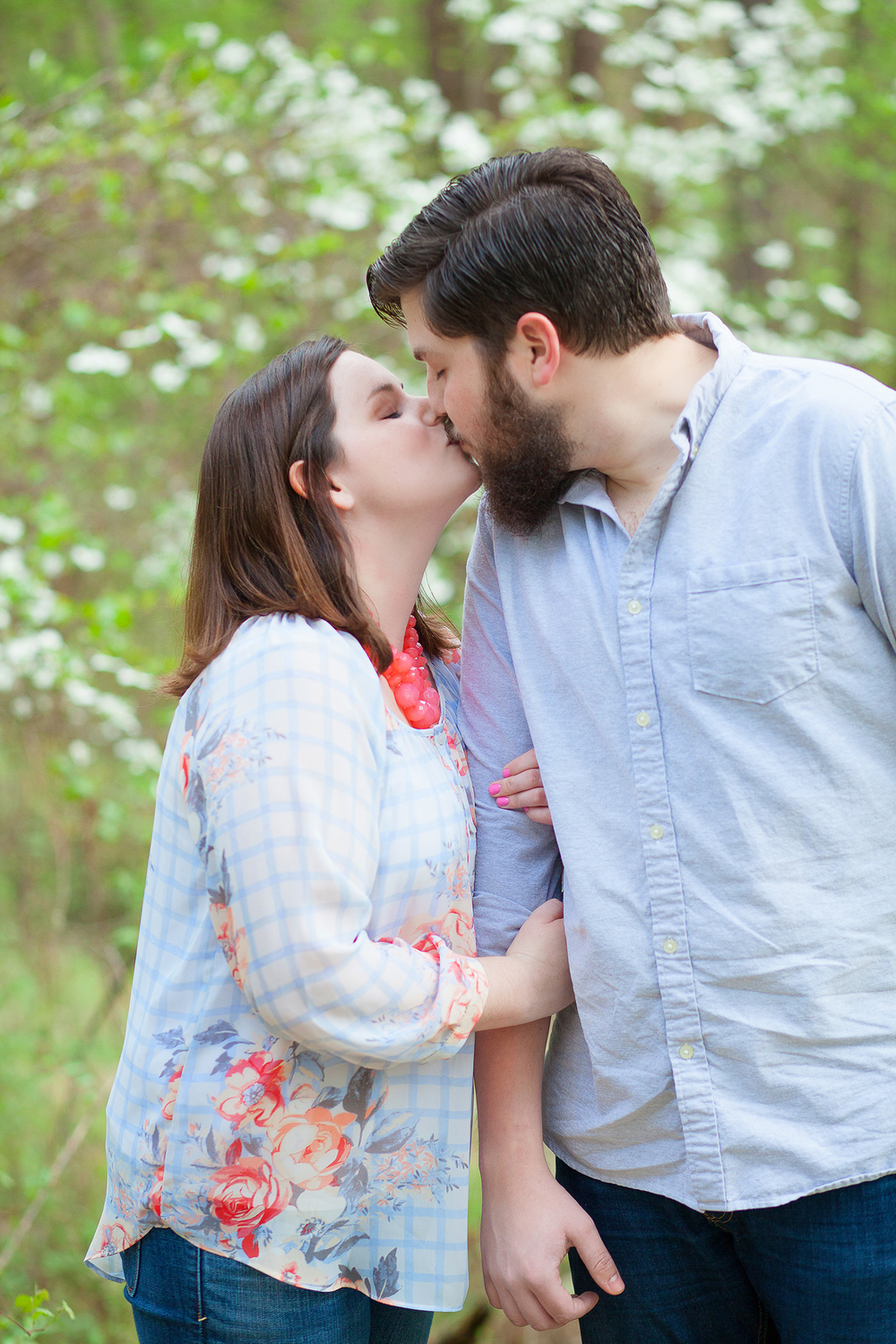 Dogwood Engagement Session
