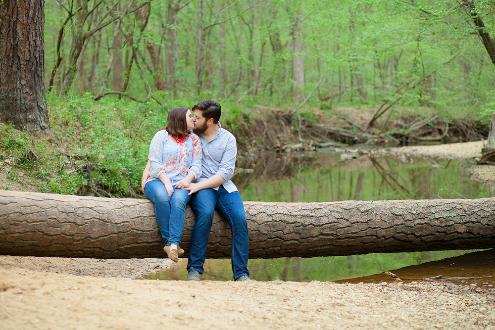 Engagement Sessions at a River