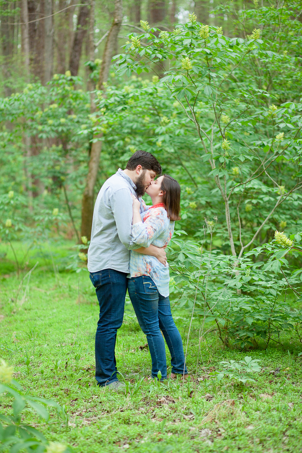 Woodland Engagement Pictures