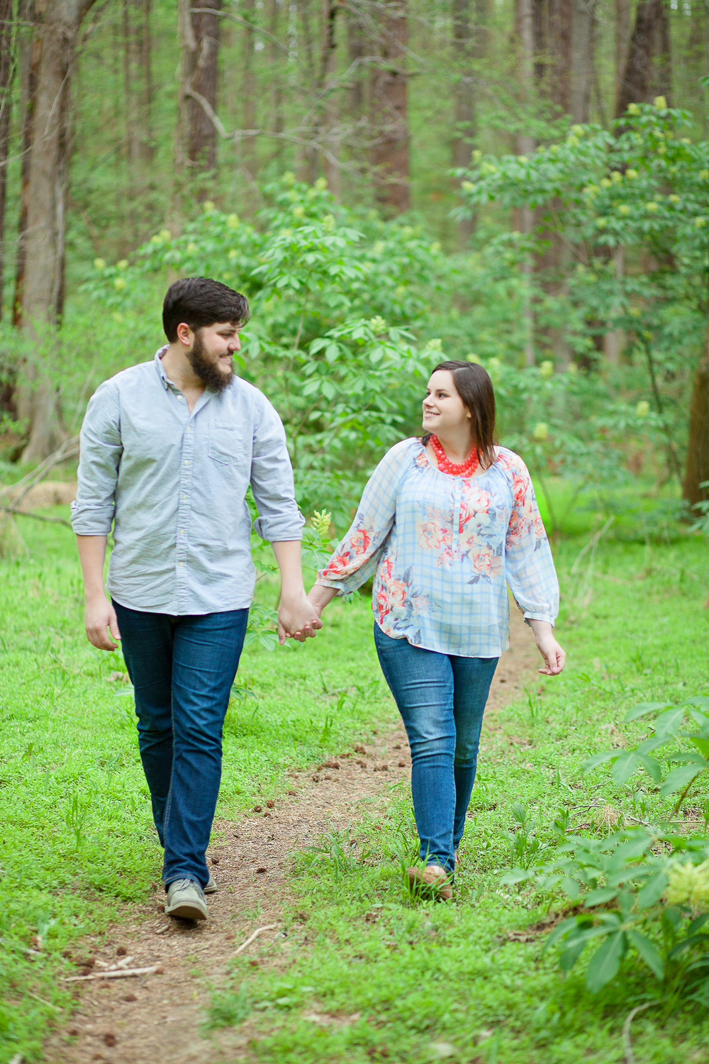 Engagement Session in a Forest