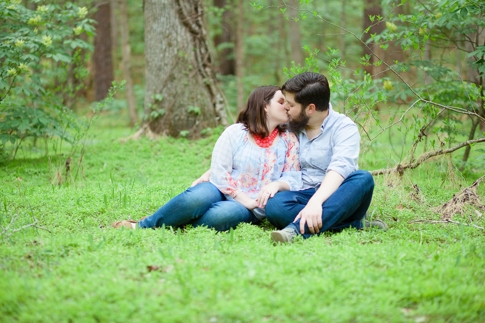 Umstead Park Engagement Session