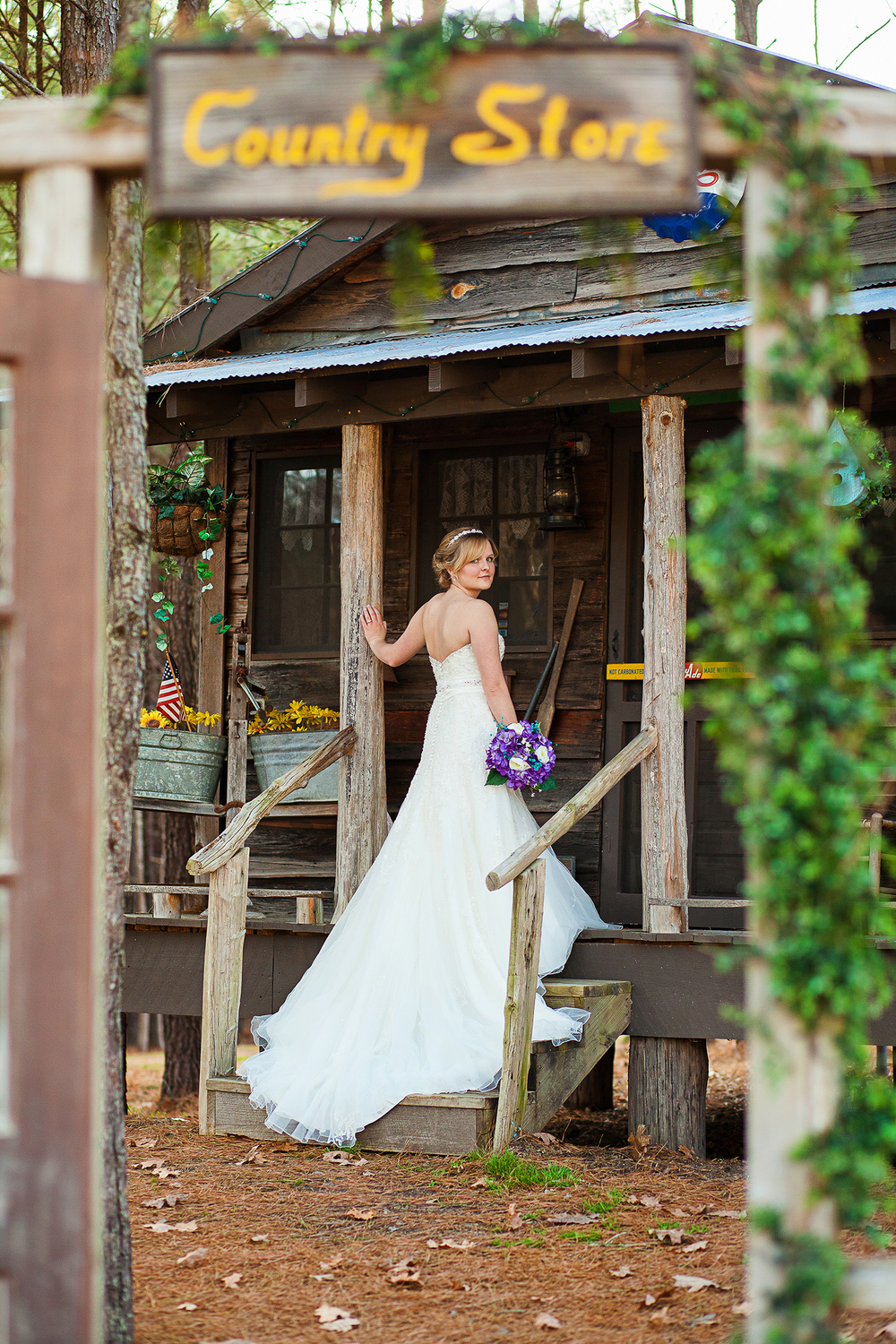 Farm Bridal Portraits