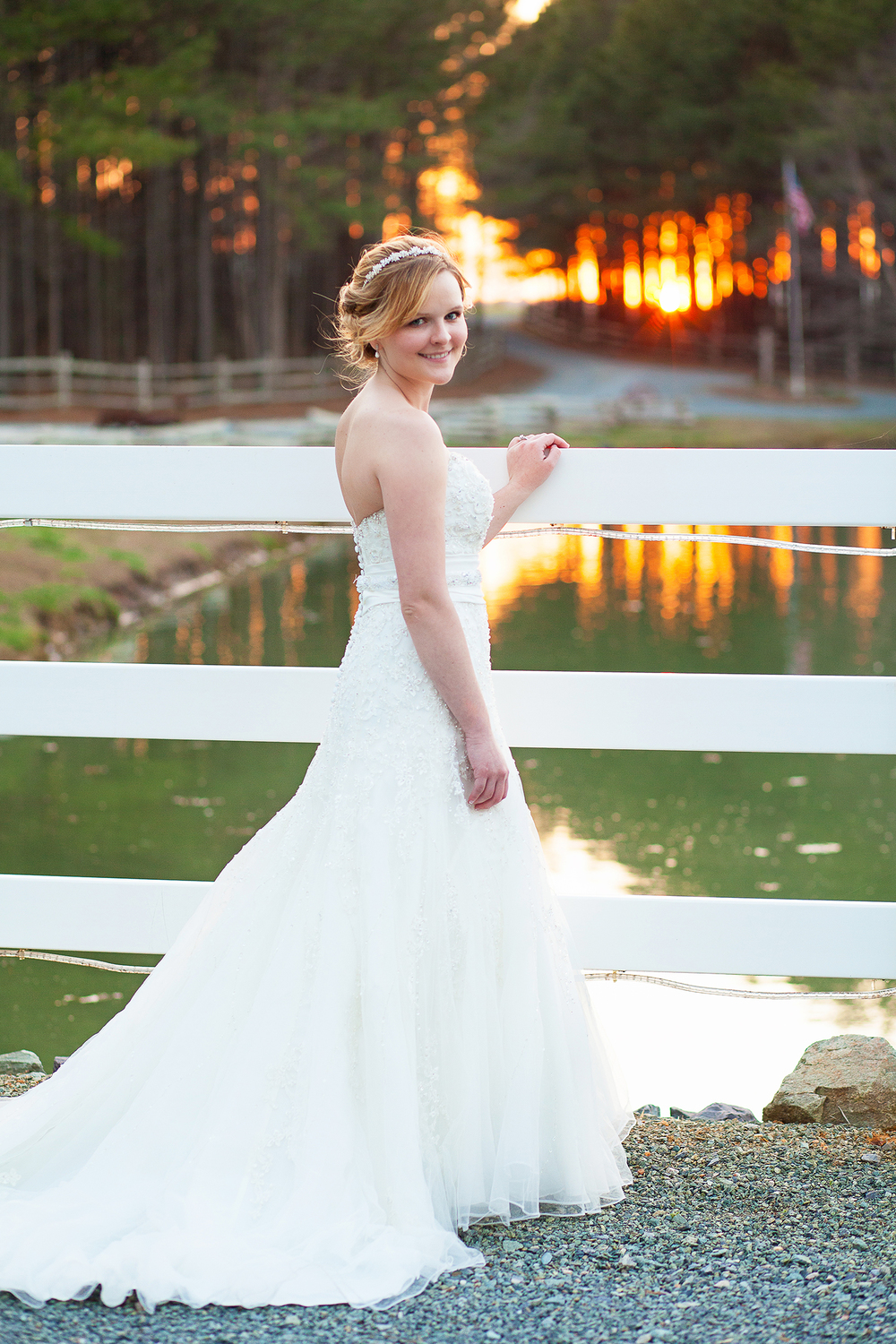 Sunset Bridal Portraits