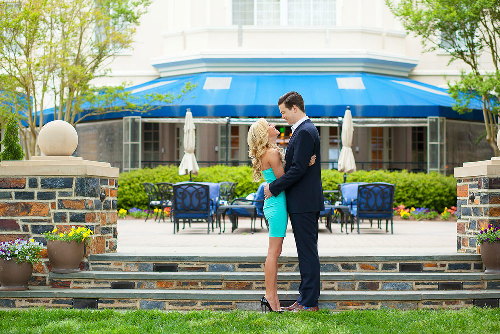 Washington Duke Inn Engagement