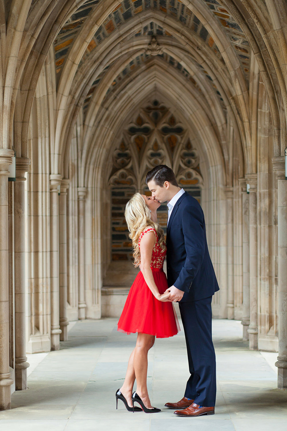 Duke Chapel Engagement