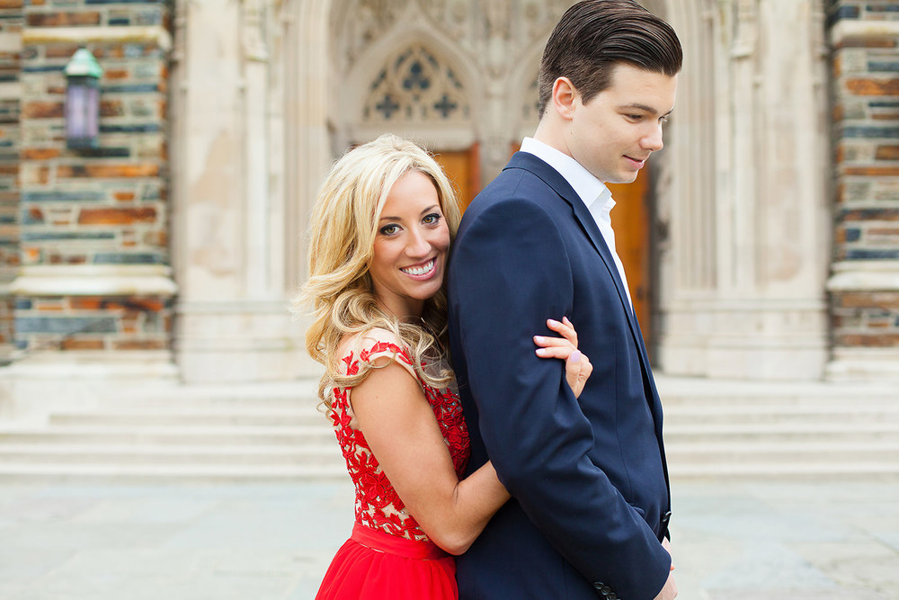 Engagement Session at Duke Chapel