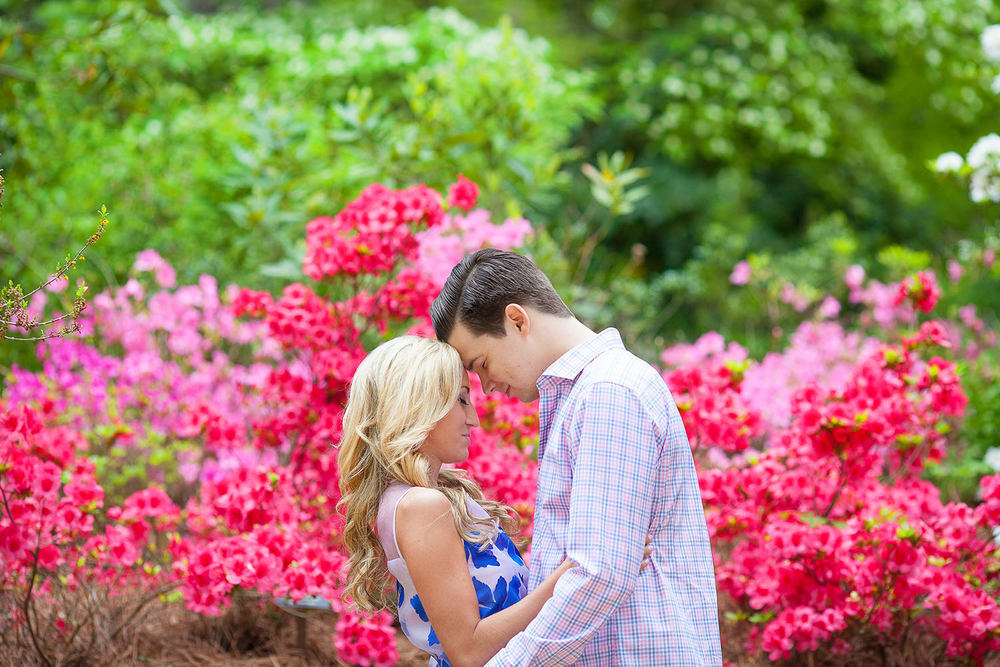 Floral Engagement Session